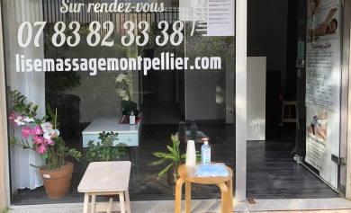 Salon massage lise à Montpellier